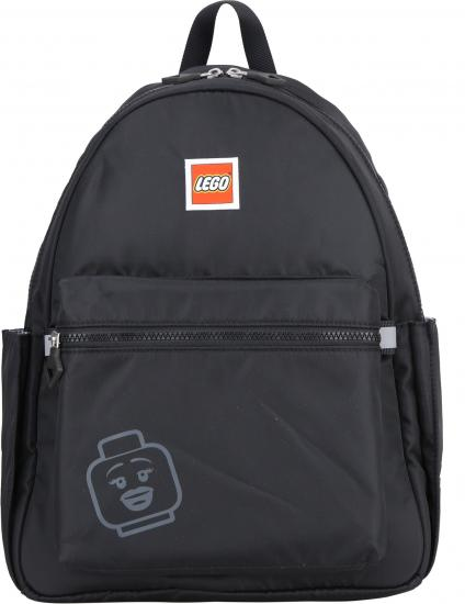 Rucsac Casual LEGO Tribini Joy Large - design Emoji - negru