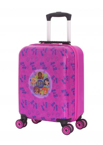 Troller 16 inch, material ABS, LEGO Friends with Heart