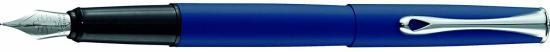 DIPLOMAT Esteem - Lapis Blue - stilou cu penita M, din otel inoxidabil