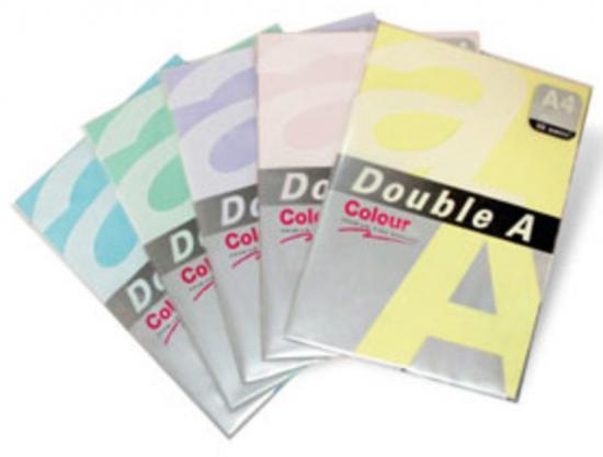 Hartie color pentru copiator A4, 75g/mp, 25coli/top, Double A - verde neon