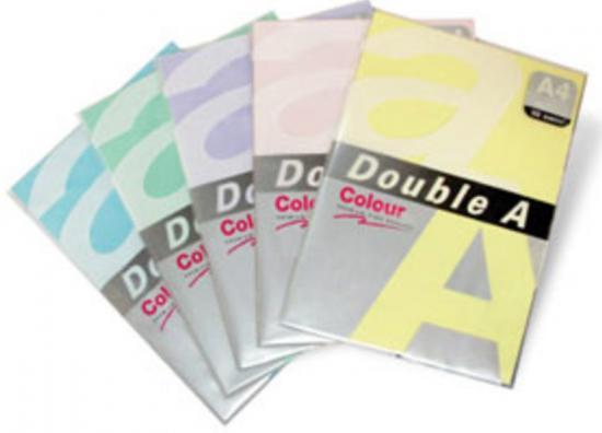 Hartie color pentru copiator A4, 75g/mp, 25coli/top, Double A - roz neon