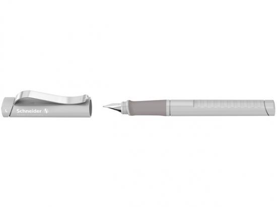 Stilou SCHNEIDER Base (tip M - medium) - corp gri deschis