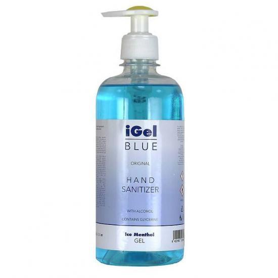 Gel alcoolic dezinfectant pentru maini 500 ml, Igel Blue