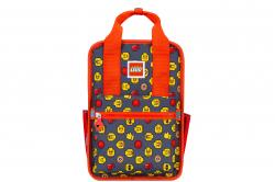 Rucsac Casual LEGO Tribini Fun Small - design Heads and Cup - rosu