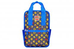 Rucsac Casual LEGO Tribini Fun Small - design Heads and Cup - albastru