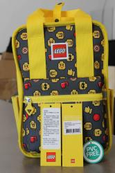 Rucsac Casual LEGO Tribini Fun Small - design Heads and Cup - galben