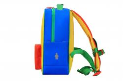 Rucsac Casual LEGO Tribini Classic Small - design Corporate Red - galben