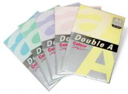 Hartie color pentru copiator A4, 75g/mp, 25coli/top, Double A - galben neon