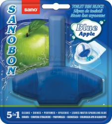 Odorizant solid pt. vasul toaletei, curata, igienizeaza si coloreaza apa, 1000 utilizari, SANO Bon -