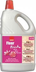 Detergent pentru pardoseli, curata si parfumeaza, 2 litri, SANO Floor Fresh - musk